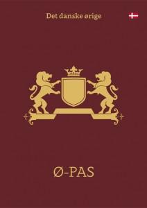 Ø-Pas dansk omslag