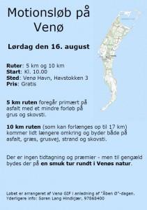 Motionsløb på Venø
