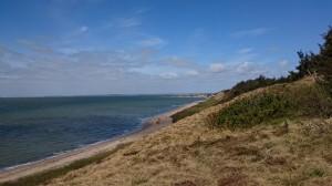 natur vest mod strand
